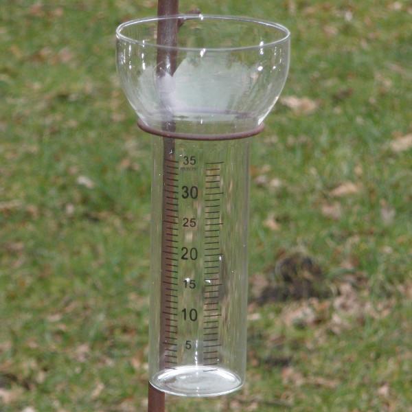 Glas Regenmeter-0