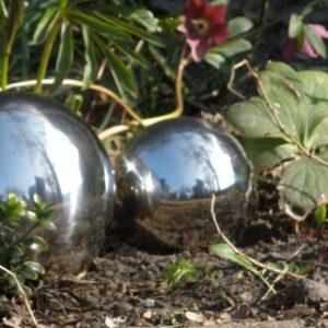Heksenbol 13 cm Zilver-0