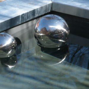 Heksenbol 18 cm Zilver-0