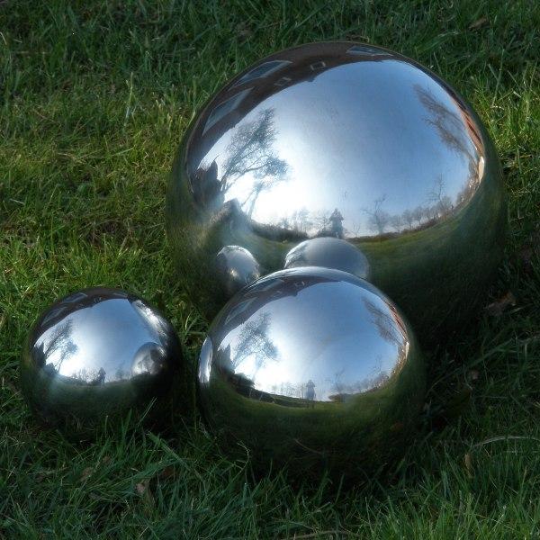 Heksenbol 9 cm Zilver-753