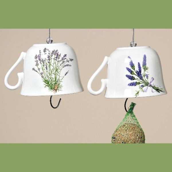Set Vogelvoerhouders Lilac