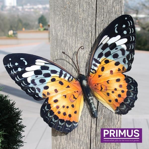 Muurdecoratie Vlinder Oranje