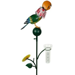 Regenmeter Vogel Pia