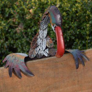 Hekdecoratie Vogel Frans