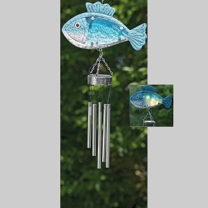 Windgong Solar Vis Blauw