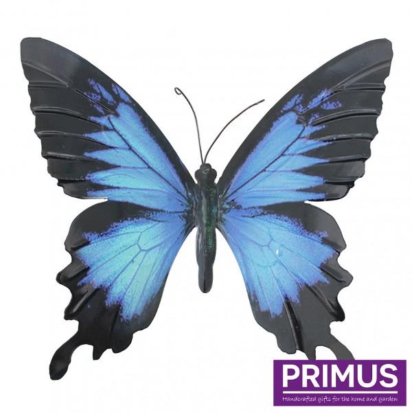 Muurdecoratie Vlinder Blue