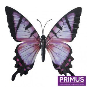 Muurdecoratie Vlinder Pink