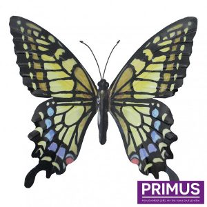 Muurdecoratie Vlinder Yellow