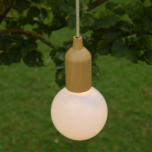 LED Lamp Lichtbruin
