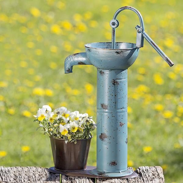 Bloempot Waterpomp Blauw