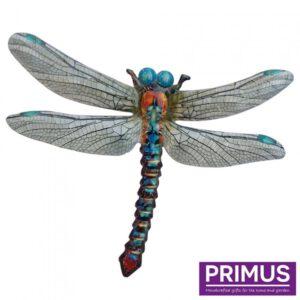 Muurdecoratie Libelle Blauw