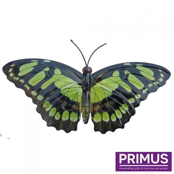Muurdecoratie Vlinder Groen