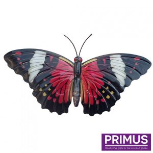 Muurdecoratie Vlinder Rood