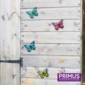 Muurdecoratie Vlinders 12 stuks