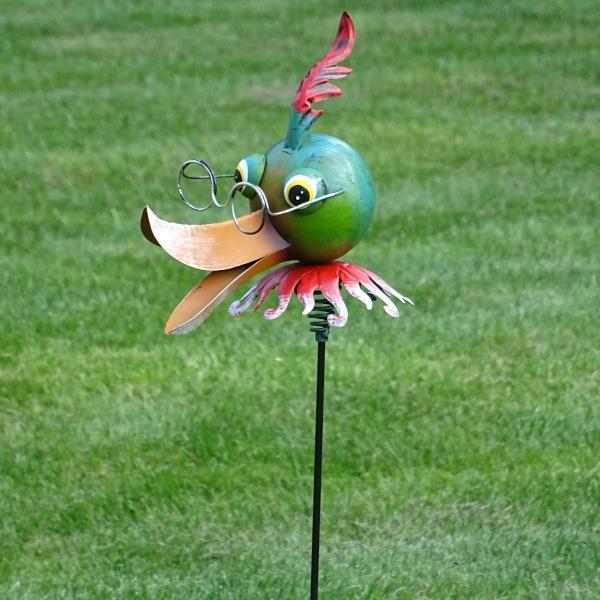 Tuinsteker Harm de eend