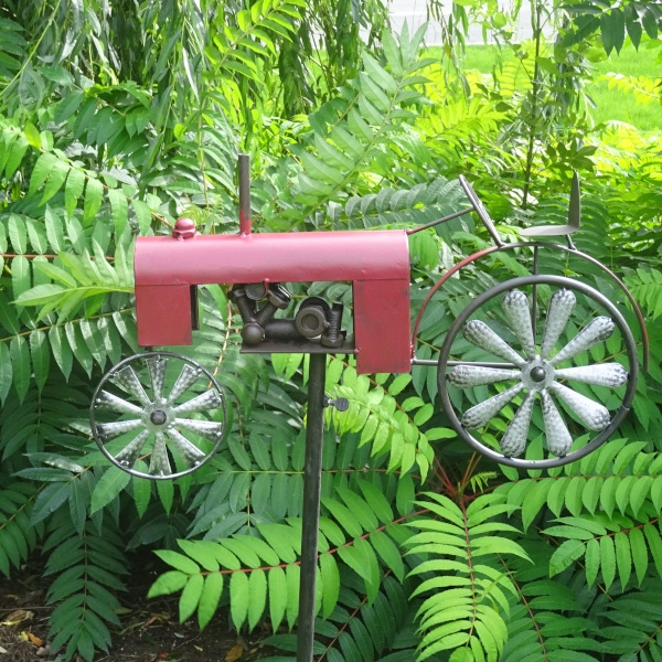 Tuinsteker rode trekker